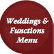 wedding and functions menu